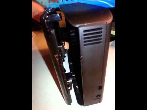 how to break open a hard drive