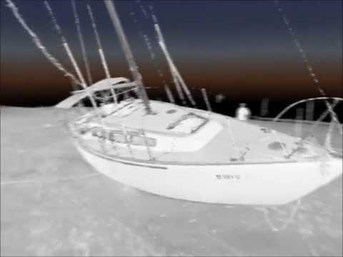 3D Sailboat Wreck New Smyrna Beach, FL