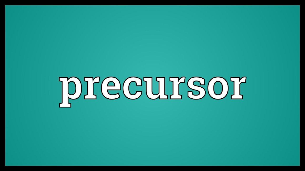 Precurer