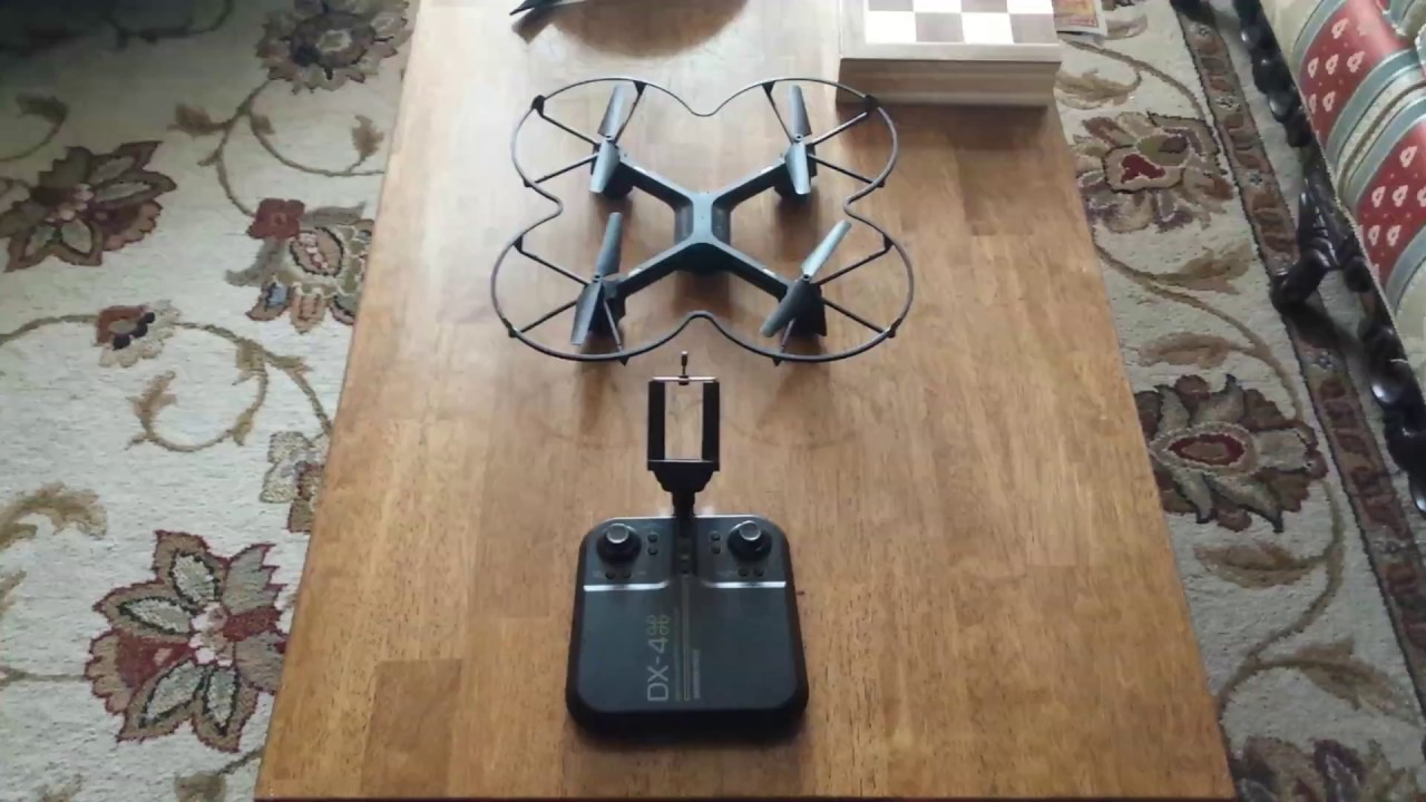 How To Pair The Dx 4 Drone With Remote Sharper Image Youtube