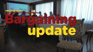 College Faculty Bargaining Update CC
