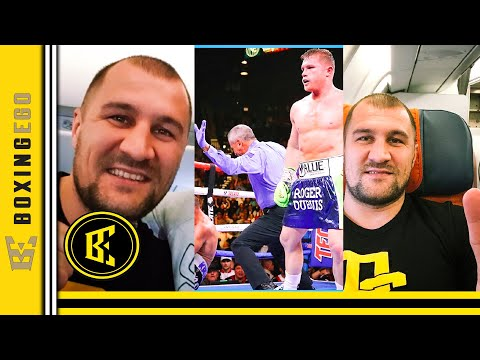 """SERGEY KOVALEV ADMITS TAKING CANELO FIGHT FOR MONEY """"IT WAS IMPOSSIBLE TO WIN...YDKSAB"""""""