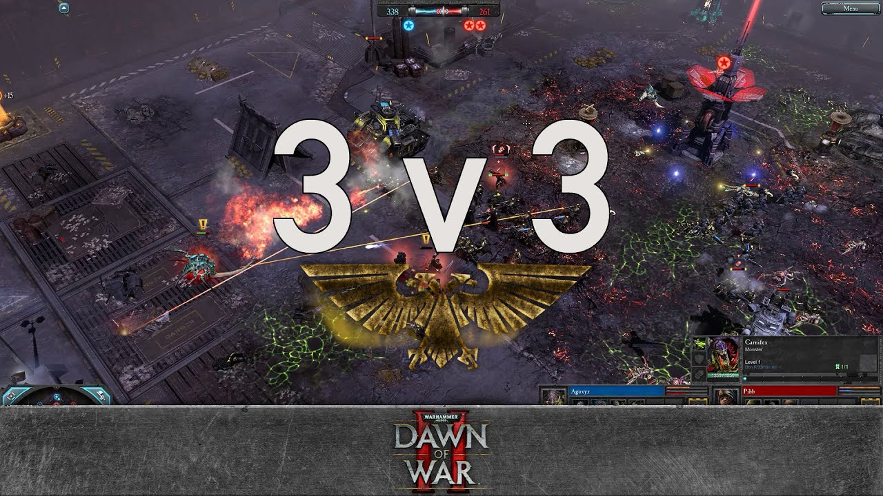 Dawn of war 2 faction wars 2016 tyranids v imperial guard youtube
