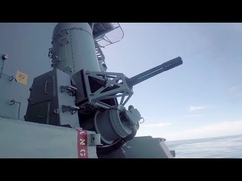 Close-in Weapon System Test Fire – Aircraft Carrier USS Abraham Lincoln