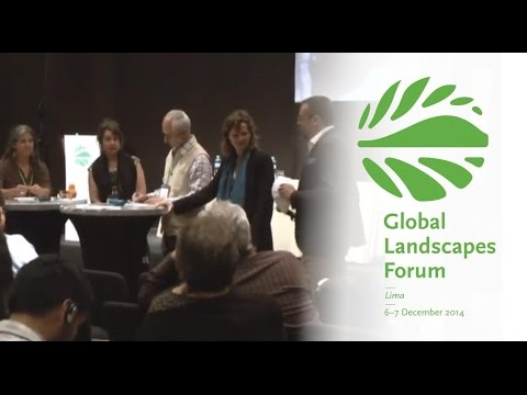 Landscapes under pressure: the needs of conservation, food security & economic development