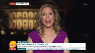 Former U.S. Marine On North Korea Tensions | Good Morning Britain