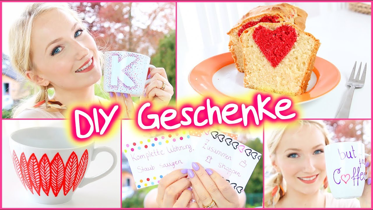 diy geschenk ideen muttertag geburtstag einfach g nstig youtube. Black Bedroom Furniture Sets. Home Design Ideas