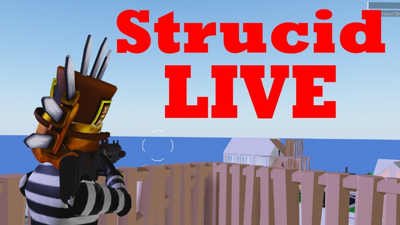 strucid gameplay livestrucid vip server youtube