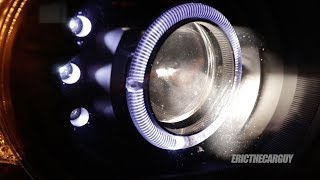 HID vs LED vs Halogen Headlights in Projector Housings