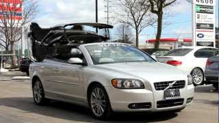 2007 Volvo C70 T5 Hardtop Convertible in review - Village Luxury Cars Toronto