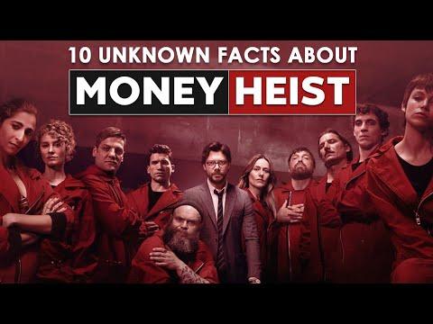 Money Heist | 10 Unknown Facts | Cinema Kichdy
