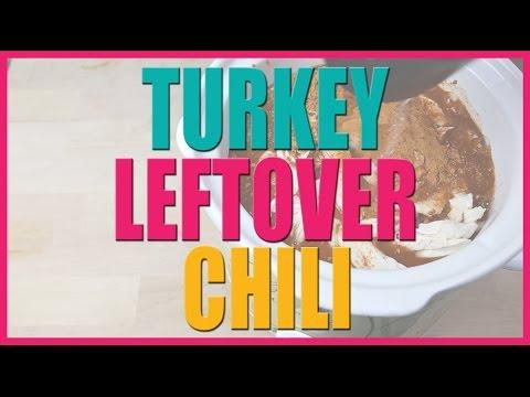 Turkey Leftover Chili Recipe