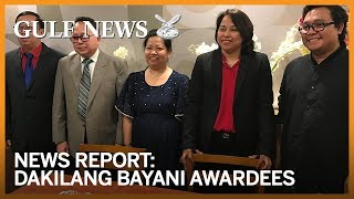 Five exemplary Filipino expats handed highest honour by Philippine Consulate in Dubai