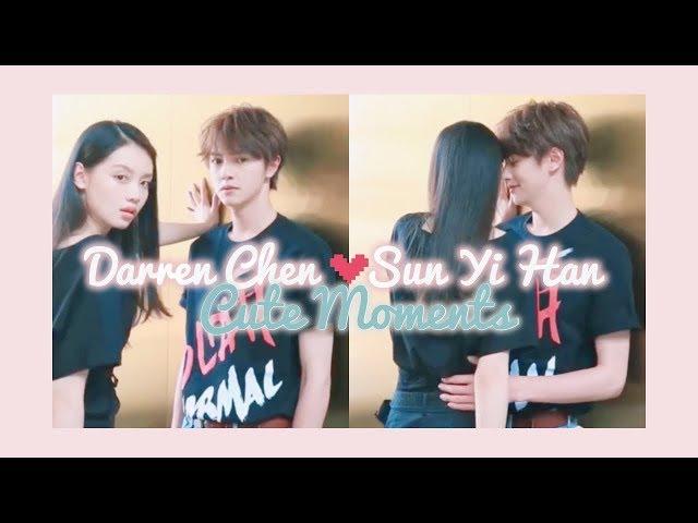 Darren Chen ?? & Sun Yi Han ??? Cute Moments PART 1 ? (Lei & Jing Meteor Garden 2018)