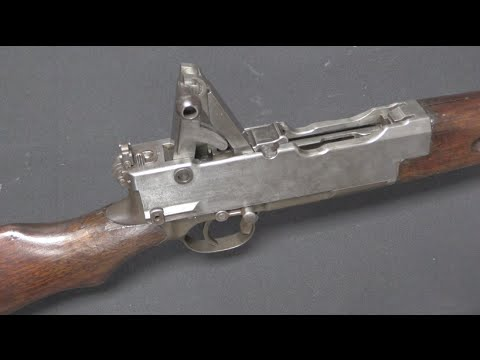 Japanese Trials Gas-Operated Pedersen Rifle