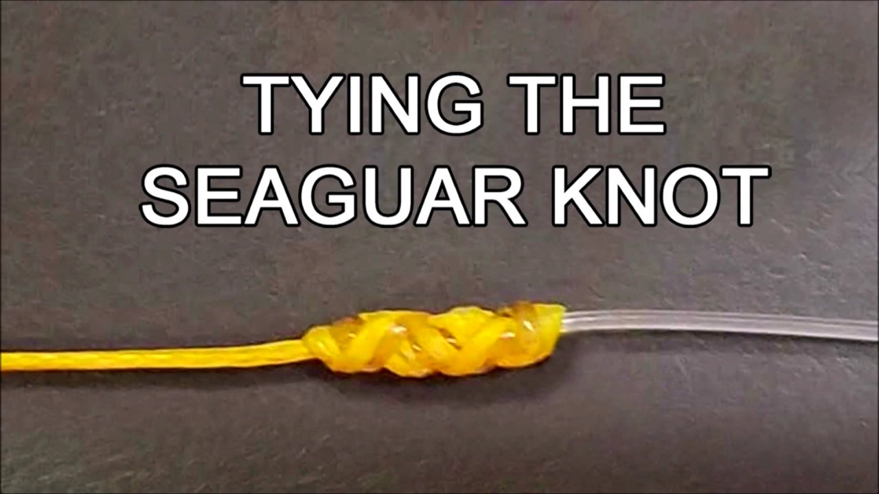 Tying The Seaguar Lefty Kreh Knot Youtube