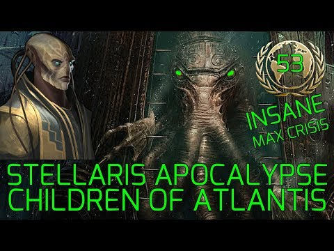 Trading With Frogs :) - Stellaris Apocalypse Roleplay - THE CHILDREN OF ATLANTIS Insane Gameplay #53 |