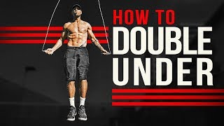 Learn The Jump Rope Double Under