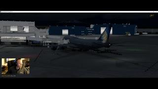 NEW! | PMDG 747-8I | UAL545 | B748 | KDEN-KSFO | P3DV4.3 | VATSIM-LIVE ATC