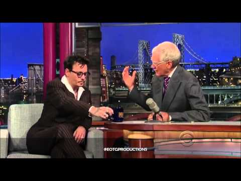Johnny Depp - David Letterman Full Interview (June 2013)