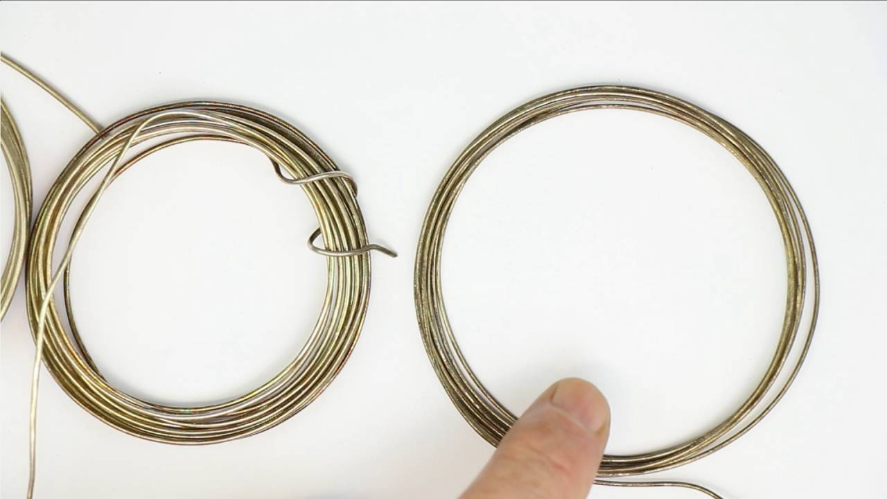 Silver-Clad Copper-Wire (Why not to use it) - YouTube