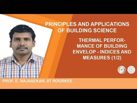THERMAL PERFORMANCE OF BUILDING ENVELOP - Indices and measures (1/2)