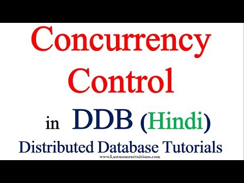 Concurrency Control Protocol in Distributed Database in Hindi |DDB tutorials in Hindi