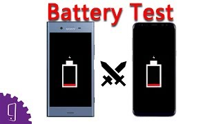 Sony Xperia XZ1 vs Samsung Galaxy S8+ Battery Comparison | Charging Speed | Battery Drain Test