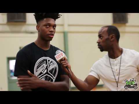 Lonnie Walker & Talek Williams Interview: Allen Iverson Roundball Classic