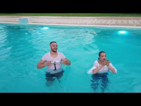 Culiță și Carmen de la Sălciua - Farsă la piscină în timpul unei ședințe foto! :))))