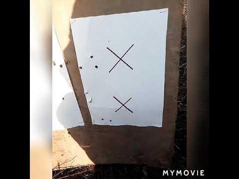 Пристрелка штуцера Росси 623.