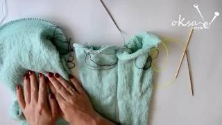 Урок 3: Вязание кокетки