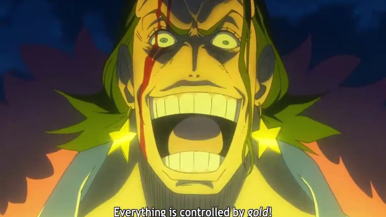 one piece film gold subbed
