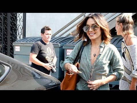 Vanessa Hudgens Gets Ready For High School Musical 4