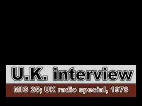 U.K. 1978 radio interview Eddie Jobson John Wetton