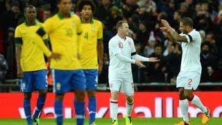 England vs Brazil 2-1 Highlights International Friendly [Brasil 2014] 06/02/13