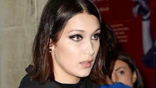 Bella Hadid Dissed For 'Acting 'Black' - Whatever That Is