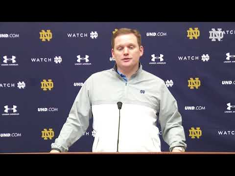 Coach Long Press Conference | @NDFootball Signing Day (02.07.18)