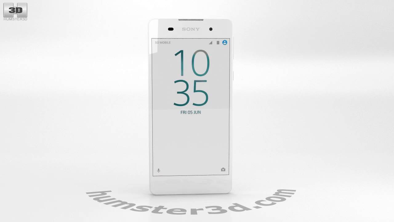 sony xperia e5 white 3d model by youtube. Black Bedroom Furniture Sets. Home Design Ideas