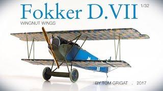 Wingnut Wings Fokker D.VII-early, 1/32, Stopmotion