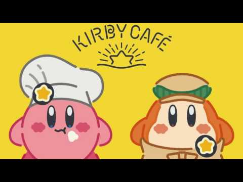 Eating a Meal and Having a Dream - Kirby Café