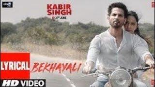 LYRICAL: Bekhayali | Kabir Singh | Shahid K,Kiara A | PEPPY PIRATE | Sachet-Parampara | Irshad