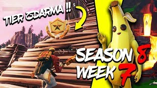 WHERE is the FOURTH FREE TIER FOR SEASON 8 (Week 7)-Fortnite Battle Royale CZ/SK