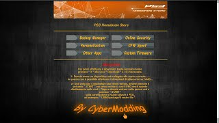 PS3 - CyberModding HomebrewStore!