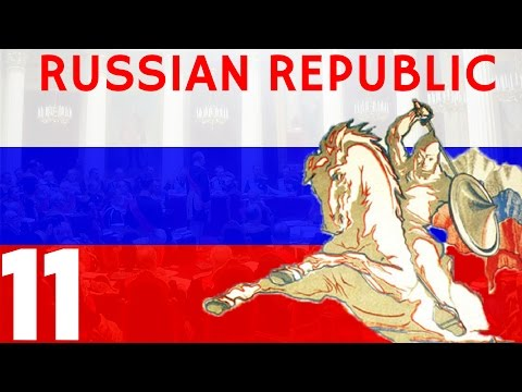 """HOI4: KR - Russian Republic 11 """"The End of the Wars"""""""