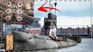 Verlaten Russische onderzeeër bij Amsterdam Centraal: Torpedo's & nog veel meer!