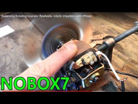 Balancing  Rotating Masses -flywheels- Rotors- Impellers With IPhone