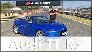 2016 Audi TT RS Coupe and Audi TT RS Roadster: Test Drive & Review | Auto | English