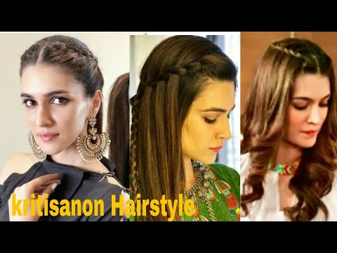 Kriti Sanon Inspired Hairstyle/Hairstyle for Rakshabandhan/hairstyle for suit and gown#hairstylegirl thumbnail