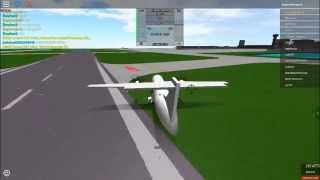 Roblox    A Place With Airliners    JC's First flight